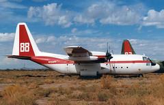N138FF Lockheed C-130A Hercules 'International Air Response' (Keith B Pics) Tags: n138ff c130 hercules chandler iar keithbpics internationalairresponse usaf70520 c130a n119tg tgaviation chandlermemorial tanker88 firebomber lockheed gilariver