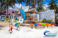 Proudly introducing Nomad's latest development: the Blue Wave Watersports Center We are renting snorkelling equipments, kayaks, skim and boogie boards, SUP and windsurf