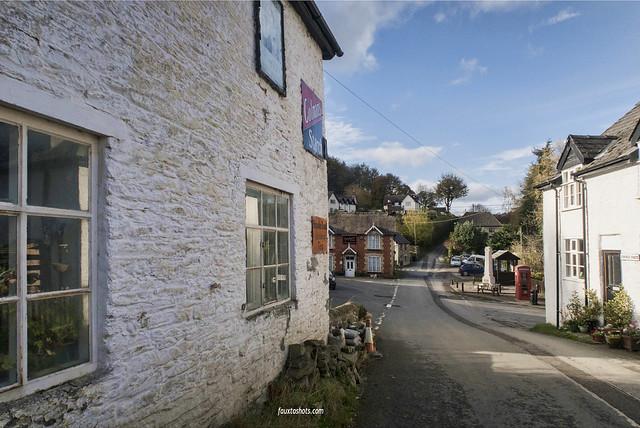 Llangunllo a small Welsh village