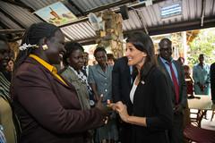 US ambassador to the UN in South Sudan (Albert Gonzalez Farran) Tags: americanembassy donaldtrum idp trumpadministration us usadministration unitedstatesofamerica ambassador conflict diplomacy politics visit war juba jubek southsudan
