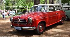 Borgward 1954-62 Isabella Combi.   10.17 (Basic Transporter) Tags: claasic car show south africa studebaker old borgward isabella