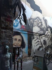 Anne Frank and the gorilla (ashabot) Tags: berlin germany berlingermany wwii war annefrank sadness sad beautifu beauty girl younggirl memorials memorial