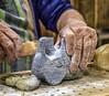 Hands at work (montrealmaggie) Tags: hands work soapstone sculptor art dust