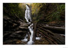 Autumn at Mingo Falls (John Cothron) Tags: 15mm americansouth cpl canoneos5dmkiv carlzeiss carolinas cherokee cothronphotography distagon1528ze dixie johncothron mingocreek mingofalls nc northcarolina quallaboundarylandtrust southatlanticstates southernregion swaincounty thesouth us usa unitedstatesofamerica zeissdistagont2815mmze afternoonlight autumn circularpolarizingfilter deadtree fall falling flowing forest landscape log longexposure nature outdoor outside partlycloudy rock scenic water waterfall img21340171024 ©johncothron2017 autumnatmingofalls