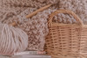Tiempo de..... (Charo R.) Tags: lana cesta libro agujas de tejer manta canon