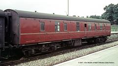c.1969 - Banbury, Oxfordshire. (53A Models) Tags: britishrail mk1 fullbrake bg e81276 parcelsvan npcs banbury oxfordshire train railway locomotive railroad