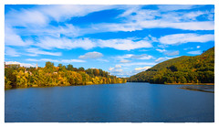 On the Connecticut River (Timothy Valentine) Tags: 2017 clichésaturday river sky 1017 vacation hinsdale newhampshire unitedstates us