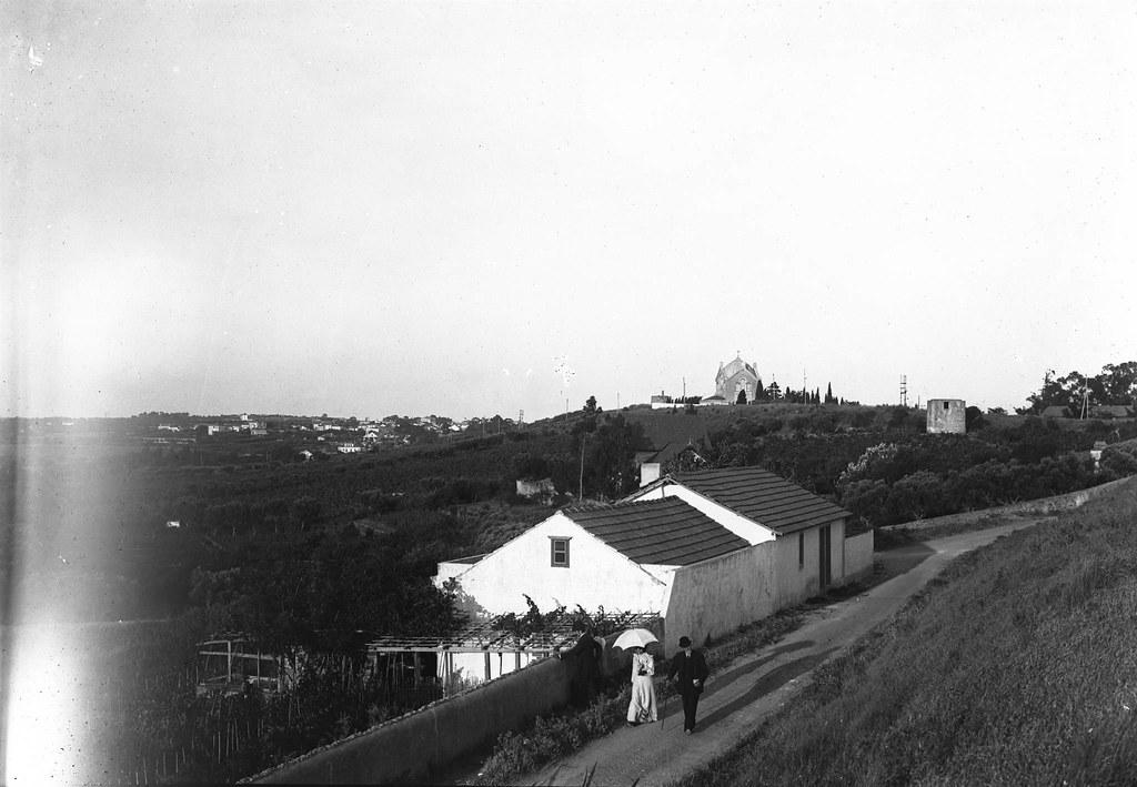Caliça, Estr. dos Salgados (p. Guedes, c. 1900)