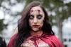 Little Red Riding Hood (l plater) Tags: littleredridinghood sydneyzombiewalk2017 princealfredpark