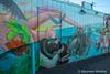 Playtime with An Octopus (Maureen Medina) Tags: maureenmedina artizenimages california ca sandiego coast northern encinitas street mural art mermaid octopus beachy