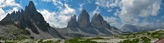 Panorama dal Rifugio Locatelli (Gian Floridia) Tags: dolomitidisesto dreizinnen lavaredo montepaterno paternkofel rifugiolocatelli trecime valpusteria panorama