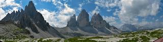 Panorama dal Rifugio Locatelli