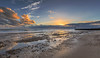 A Passing Ship (nicklucas2) Tags: seascape beach sea sand pebble cloud sunset southbourne