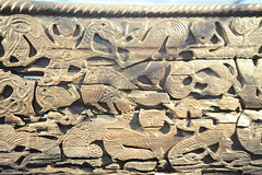 (Richard Langham) Tags: norway oslo museuym viking boat ship museum wood carved