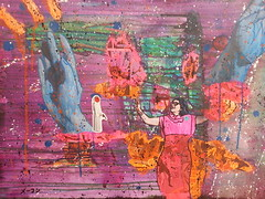 Torii Gives Birth to Rebel Weirdo Crossfit Yoga (Marc-Anthony Macon) Tags: aart dada dadaism dadaist dadaísmo outsiderart folkart rawart artbrut popart dadaismo dadism intuitiveart queerart queer punk punkart