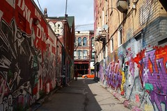 Graffiti Alley, Toronto (NovemberAlex) Tags: canada colour streetart urban graffiti