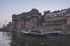 Varanasi - Ganges River - boat ghats-11