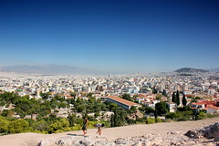 Athens from Areopagus Hill (ika_pol) Tags: athens acropolis greece ancientgreece ancientruins ancient antiquity geotagged