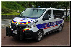 Renault Trafic IV Police Nationale (Breizh56) Tags: france pentax renault policenationale trafic