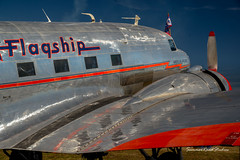 American Airlines, 'Flagship Detroit' (wexfenne24) Tags: 2017 24120 d600 dc3 nikon wingsovernorthgeorgia aircraft airshow outdoor americanairlines flagshipdetroit airplane refection