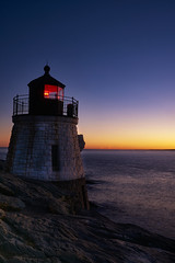 Castle Hill Lighthouse (Denverphotoscapes) Tags: rhodeisland captureonepro nikon d810 castlehilllighthouse worldregionscountries northamerica unitedstatesofamerica newport architecture building commercialbuilding towers lighthouses timeofday goldenhour sunset providence usa