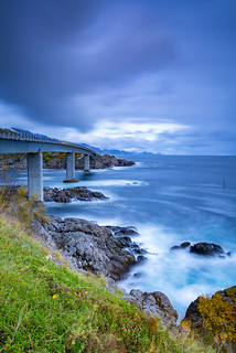 Bridge over Angry Ocean