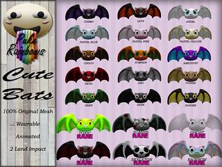 [PR] Cute Bats - Gacha PIC