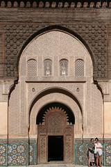 Ben Youssef Madrasa (Hector16) Tags: africa october morocco lavilladesorangers unescoworldheritagesite المَغرِب northafrica مراكش berber marrakech kingdomofmorocco marrakesh marrakeshtensiftelhaouz ma