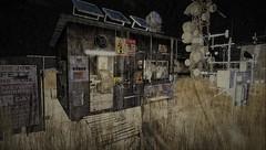 The Last Weather Station (tralala.loordes) Tags: secondlife virtualreality mesh weather weatherstation nofuture postapocalypse apocalypse tralalaloordes landscape slum scrap hoarders salvage