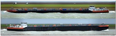 Gulf Stream (Morthole) Tags: ship boat schip boot barge binnenvaart schiff rheinschiff liquidbarge tanker gulfstream poster slitscan