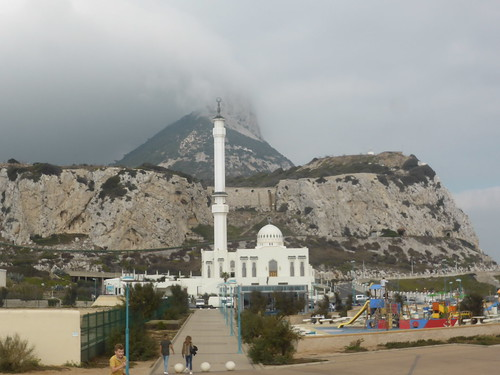 Gibraltar - Europa Point - Ibrahim-al-Ibrahim Mosque