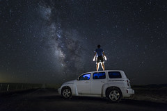 Roam (Explored) (Rigsby'sUniquePhotography) Tags: wyoming milkyway landscape chevy hhr travel explore roam summer vacation vanlife carlife ontheroad nature longexposure stars galaxy aaronrigsby canon sandisk