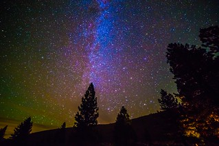 The northern Milky Way near Bridgeport, CA.