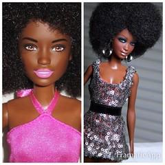 barbie110 (SeloJ Spa) Tags: selojspa joncopeland ooakbarbie barbiefashionista tropicutie barbiefashionistatropicutie barbie mattel ooakfashiondoll