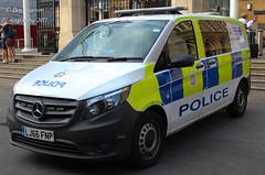 LJ66 FNP (Ben - NorthEast Photographer) Tags: btp british transport police van network incident response team for london liverpool street train station mercades