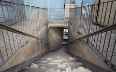 Se ascolti bene puoi ancora udire le grida dei dannati provenienti dal piano inferiore (Lorenzo Marini 88) Tags: urbex urban urbanexploration asylum decay abandoned light ancient