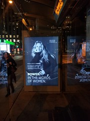 Eileen Fisher in Toronto (m.gifford) Tags: bcorp busshelter eileenfisher ad championsretreat2017 bthechange benefitcorporation biz conference toronto bcorporation ontario canada bcorpretreat championsretreat