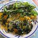 Vegetable Omelette and Garden Salad – Red Moon Sanctuary, Redmond, Western Australia