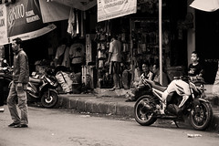 Wait for me (walking away) (Triple_B_Photography) Tags: bali asia canon contrast blackandwhite blackwhite bw eos 7d street streetphotography orang people portrait jalan indonesia filter grain tegalalang lifestyle life culture