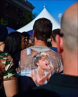 Folsom Street Fair Fashion - Man Wearing Clothes!