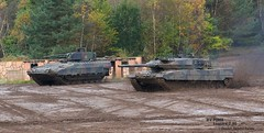 MBT Leopard 2 A6  and IFV PUMA (Combat-Camera-Europe) Tags: bundeswehr armee army exercise exercises ilü2017 ilü leopard puma ifv spz mbt mainbattletank ifvpuma mbtleopard2 leopard2a6 kmweg rheinmetall 2german armed forces