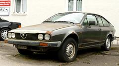 Alfa Romeo GTV (vwcorrado89) Tags: alfa romeo gtv alfetta coupe 20 rusty rust abandoned wreck old car
