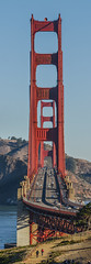 majestic northern california (pbo31) Tags: bayarea california nikon d810 color september fall 2017 boury pbo31 sanfrancisco city panoramic large stitched panorama presidio goldengatebridge 101 traffic over infinity bridge view majastic towers