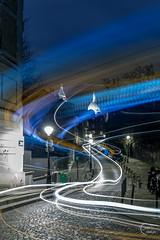 🎶 Paroles 🎶 Paroles 🎶 Paroles (Julien CHARLES photography) Tags: 75018 dalida europe france montmartre paris placedalida carlight carlighttrails cartrails filé longexposure night nightview nuit poselongue sacrécoeur trails