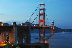 San Francisco - Golden Gate Bridge - 2017 (tonopah06) Tags: fortpoint ftpoint sanfrancisco california ca goldengatebridgenikond 700eveningnighthand held goldengate ggb sanfranciscobay highway101 us101