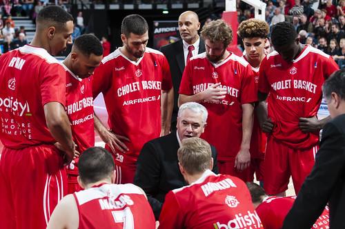 Cholet Basket - ©Jacques Cormarèche