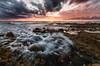 ©FabioDeSantis2017 (Fabio De Santis) Tags: nikon d5100 sigma mantona longexposure ladispoli palo lazio italy colors sea sescape mare landcsape paesaggio scogli rocks beach spiaggia nuvole clouds fabiodesantis october 2017