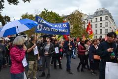 Manif fonctionnaires Paris contre les ordonnances Macron (Jeanne Menjoulet) Tags: manif fonctionnaires paris ordonnances macron loitravail manifestation mass protest street demonstration labourlaws strike demo civilservants meteofrance parapluie