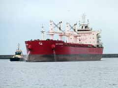 SBI Phoenix Tyne 111017 (silvermop) Tags: shipboats ships sea vessels bulkcarriers bulkers port tyne sbiphoenix
