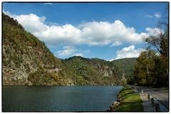 Wilbur Dam Lake (Steve4343) Tags: nikon d70s cherokee national forest cherokeenationalforest appalachian trail appalachiantrail lake watauga lakewatauga stream creek clouds sky beautiful green red yellow white elizabethton hampton tennessee siam steve4343